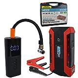 echo ENG Juego de compresor inflador de neumáticos + Kit de arranque de emergencia - UM 90 AVGG
