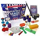 The PERFECT Magic Show - 137 Magic Tricks - Childrens Magic Set - Complete with Magic Wand, Magic Card Tricks...