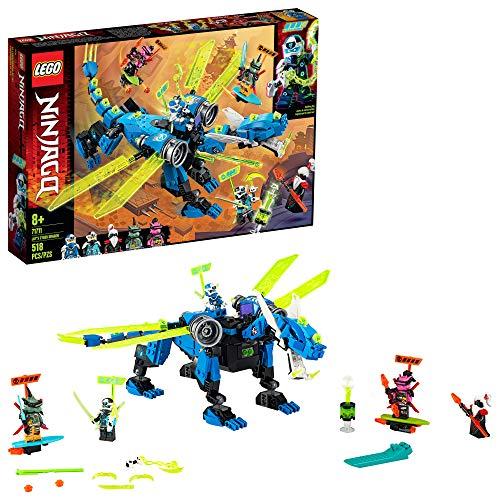 Lego Ninjago O Ciberdragão do Jay 71711