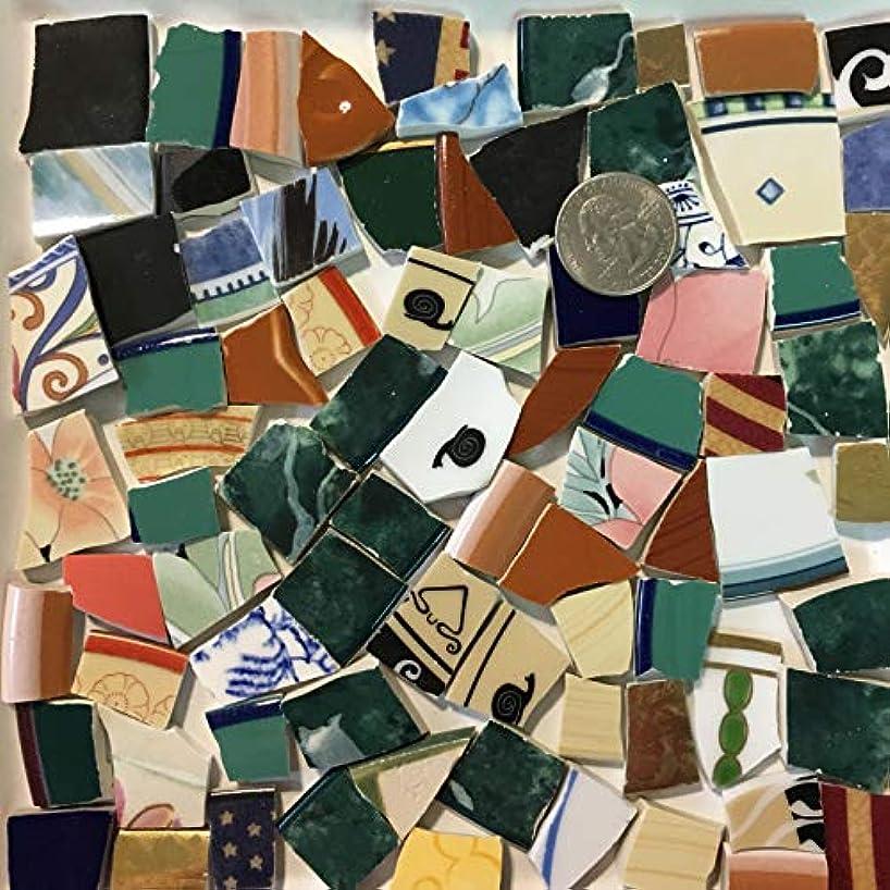 Mosaic Art & Crafts Supply ~ Colorful Mixed Pattern Tiles (B956)