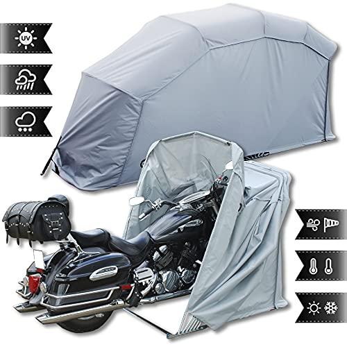 Bâche de protection pour moto scooter garage moto scooter garage housse tente protection taille xL (gris)