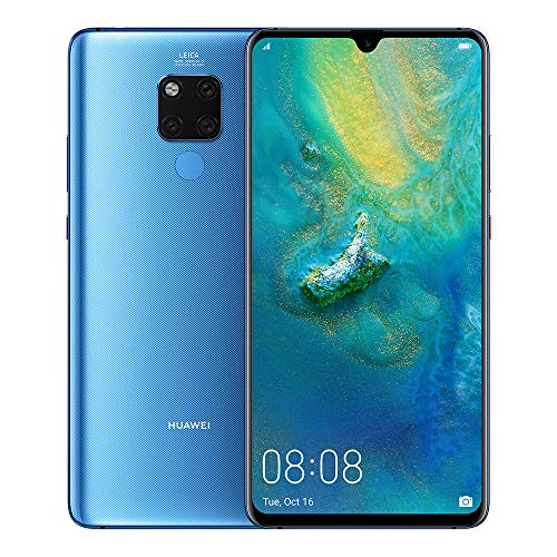 Huawei Mate 20 X - Pack De Smartphone De 7.2' FHD+ Y Band 3E (Octa-Core Kirin 980, 128 GB, 6GB RAM, Leica Triple Cámara, Azul [Exclusivo Amazon]