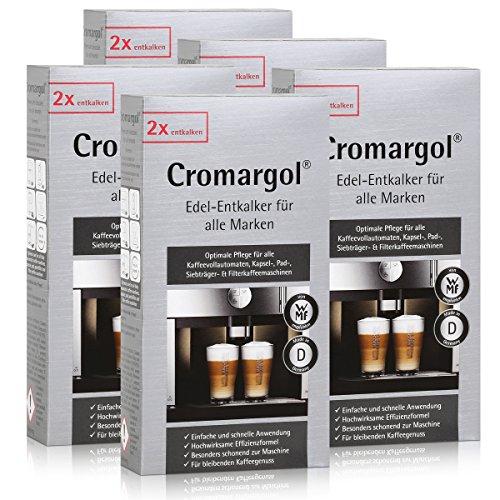 WMF Cromargol Edel-Entkalker für Kaffeevollautomaten uvm. 2x100ml (5er Pack)