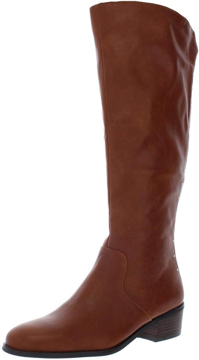 Sale SALE% OFF bar III Womens Vayla Beauty products Leather Closed Fashion Boots Knee High Toe