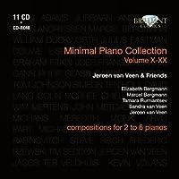 Minimal Piano Collection Vol X1-XX by Jeroen Van Veen (2010-10-28)