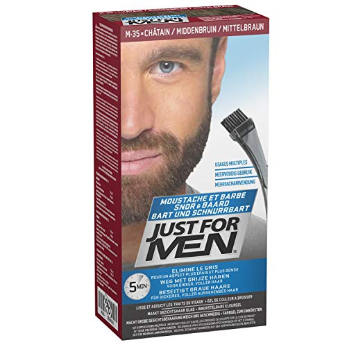 Just For Men Brush in Color Gelformel Bart Und Schnurrbart Mittelbraun