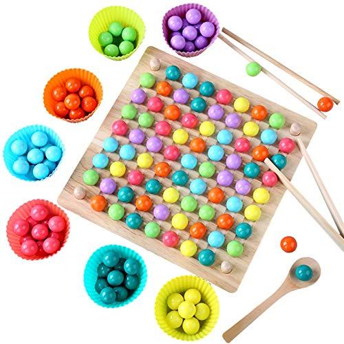 New Rainbow Ball Elimination Game Kid Parent Interaction Puzzle Magic Chess Family Game Toy, Rainbow Ball Game Toy Puzzle colorido Juego de juguete de ajedrez mágico