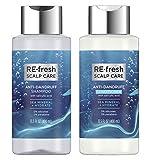 RE-fresh Scalp Care - Anti-Dandruff Shampoo and Conditioner Set - Sea Mineral + Hydrate (13.5 oz each)