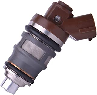 Lovey-AUTO OEM # 1001-87092 100187092 4Pcs Fuel Injectors For Toyota Supra 1JZ-GTE 2JZ-GTE F809W MR2 Celica Supra Turbo 1001-87092 100187092