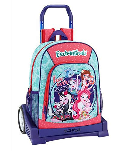 Enchantimals Oficial Mochila Espalda Ergonómica Con Carro Safta Evolution
