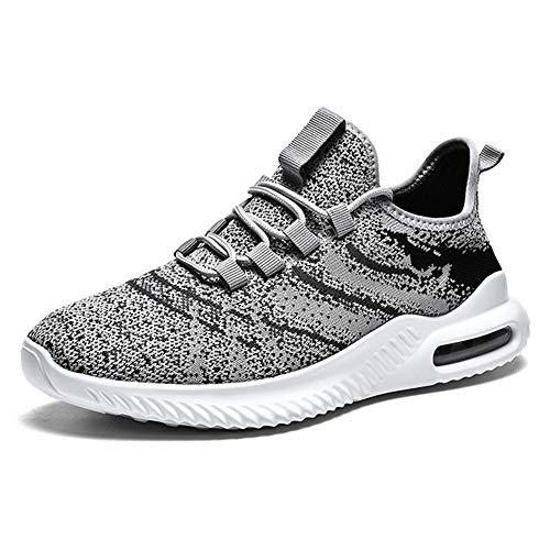 DTMZZ Vulkanisierte Schuhe Herren Sportschuhe 2020 Mode langlebige Sommer Air Mesh atmungsaktive Keilabsatz Sportschuhe Herren
