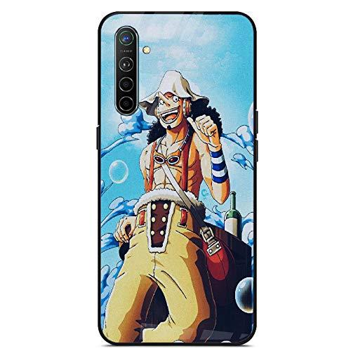 Fundas y Carcasas para teléfonos móviles,Adolescentes Personalidad Anime One Piece Vidrio Templado Carcasa del Teléfono Compatible iPhone Todos Modelos iPhone 5 / 5S