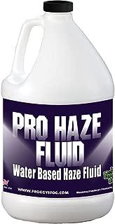 Froggys Fog - Pro Haze - High-Performance Haze Fluid for Hurricane Haze 2 and Fog Machines - Water Based Haze Fluid - 1 Gallon