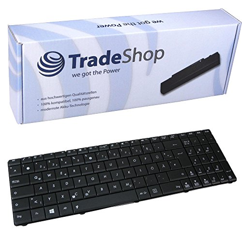 Laptop-Tastatur/Notebook Keyboard Ersatz Austausch Deutsch QWERTZ für Asus A53SV A53T A53TA A53U A53Z B53E B53F B53FA1B B53J B53JA1B B53S G51J G51Jx G51V G51VX G53JW G53SW (Deutsches Tastaturlayout)
