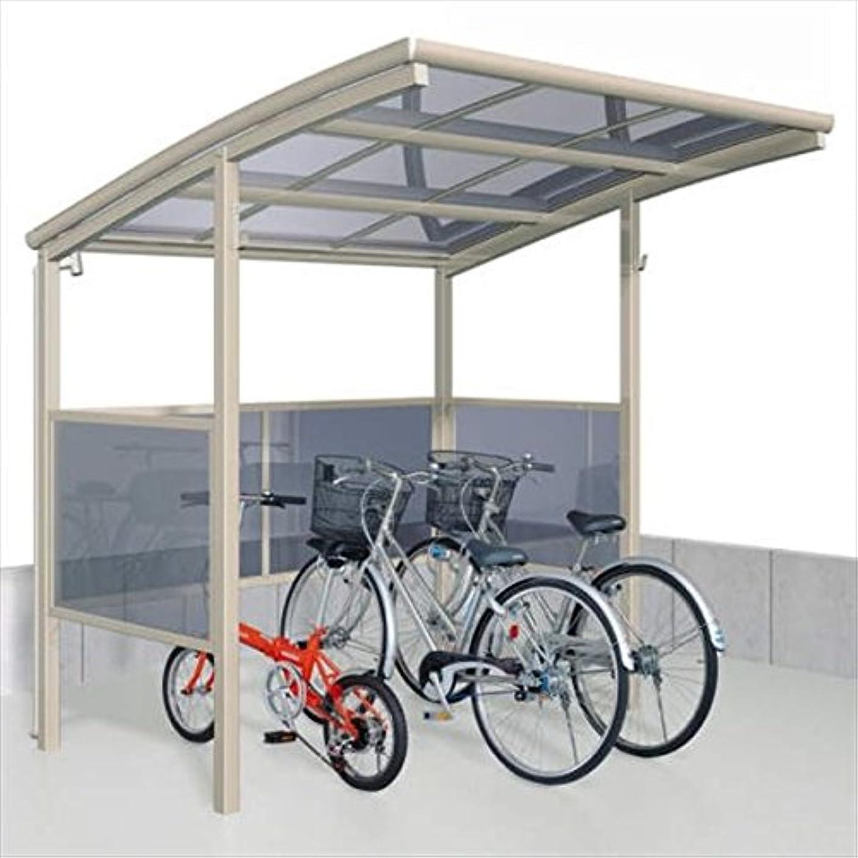 適応する粘土ほのめかすサイクルポート 三協アルミ ベルランド パネル2段タイプ 一般地域向 KLA-2121 『サビに強いアルミ 日本製 家庭用 自転車置場 屋根』 アーバングレー