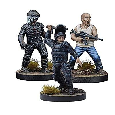 The Walking Dead: All Out War - Glenn, Prison Guard Booster Wave III from Mantic Games