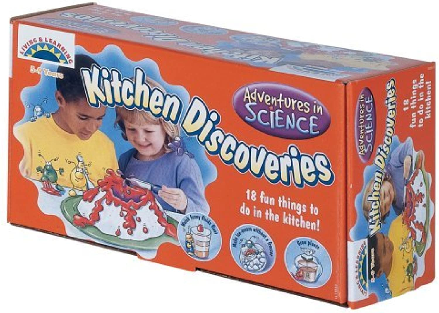 Galt Toys Living and Learning Kitchen Discoveries by Galt Toys