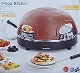 Four à pizza four à pizza boulangers dôme à pizza-pour 4 pour 4 personnes-mini...