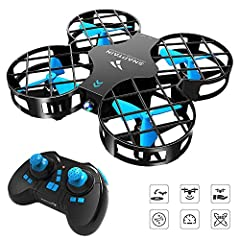 ✈【Altitude Hold】The drone will hover at the certain height when you release the throttle stick. Easy operation with extra fun. ✈【3D Flips Stunt】The robust and fantastic 360°flips & rolls stunt reveals effortlessly with the 6-Axis Gyro flying control ...