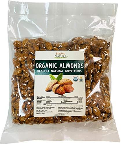 Beyond Nature, Organic California Grown Raw Almonds, 2 LB