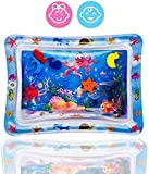 BabaBub Tummy Time Water Mat Baby – Infant and Toddler Baby Inflatable Play Mat Sensory Toys for Baby Early Development Activities | Age 3 to 12 Months