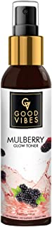 Good Vibes Mulberry Glow Toner 120 ml, Hydrating Soothing Light Weight Nourishing Moisturizing Face Toner for All Skin Typ...