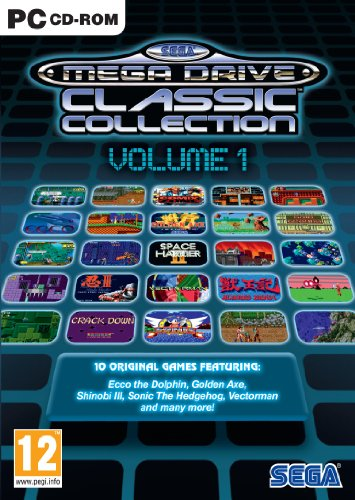 SEGA Mega Drive Classic Collection (PC DVD) [Importación inglesa]