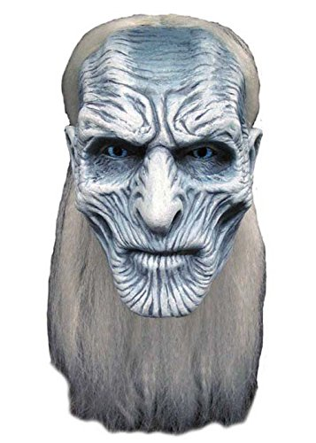 Adult Game of Thrones blanc masque Walker