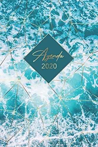 Agenda 2020: Calendar & Planificateur 2020   12 mois office journalier 2020 - Agenda semainier organiseur pour ton quotidien