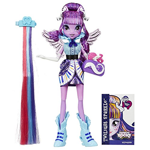 My Little Pony Equestria Girls Rainbow Rocks Twilight Sparkle Rockin Hairstyle Doll