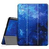 Fintie Hülle für Samsung Galaxy Tab S2 9.7 T810N / T815N / T813N / T819N 24,6 cm (9,7 Zoll) Tablet-PC - Ultra Schlank Ständer Cover Schutzhülle mit Auto Schlaf/Wach Funktion, Sternenhimmel