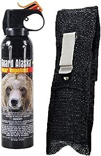 Guard Alaska 9 oz. Bear Spray Repellent & Pepper Enforcement Belt Clip Holster