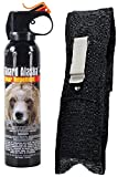 Guard Alaska 9 oz. Bear Spray Repellent + Pepper Enforcement Belt Clip Holster - Maximum Strength - EPA Registered (1-Pack)
