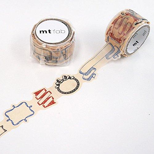 【mt】マスキングテープ fab型抜き リボン MTKT1P02