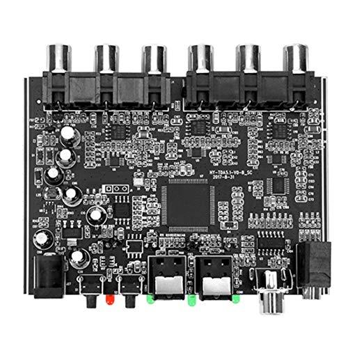 Casinlog MóDulo DAC 5,1 Canales AC-3 PCM Digital óPtico DTS RCA HiFi Audio EstéReo Home Theater Decodificador Amplificador Placa Decodificadora