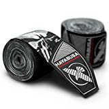 Hayabusa Marvel Hero Elite Mexican Style Hand Wraps - The Punisher, 180 Inches