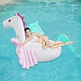 KK Zachary Pool Schwimmen aufblasbares Bett Wasser schwimmendes Bett Boot Erwachsene Schwimmen Luftkissen Candy Pegasus Aufblasbares Wasser schwimmende Ruhe
