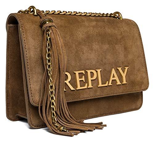 Replay ReplayFw3910.001.a3154femmePochettesMarron (Old Brown) 7x17x25 centimeters (B x H x T)