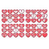 Artibetter 5 set pegatinas de amor adhesivo sello de sobre adhesivo etiquetas para scrapbooking boda ducha invitación aniversario galletas bolsas