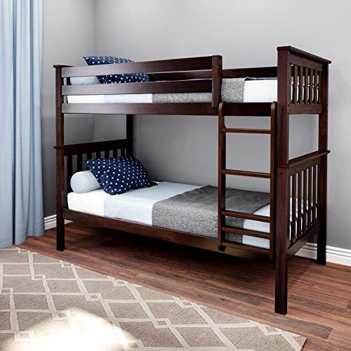 Max & Lily Bunk Bed, Twin, Espresso