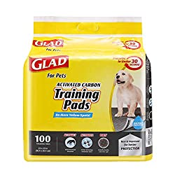 Glad for Pets Black Charcoal Puppy Pads Review