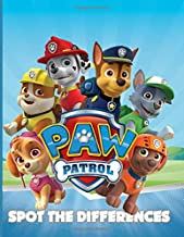 Paw Patrol Spot The Difference: Paw Patrol Great Gift Activity How Many Differences Books For Adults, Tweens