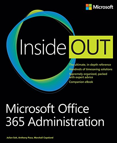 Microsoft Office 365 Administration (Inside Out (Microsoft))