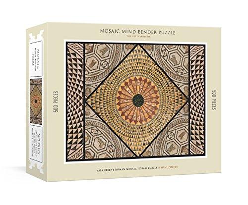 Mosaic Mind Bender Puzzle: An Ancient Roman Mosaic Jigsaw Puzzle & Mini-Poster : Jigsaw Puzzles for Adults