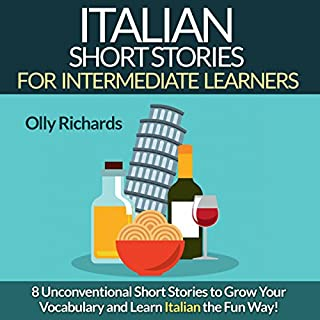 Italian Short Stories for Intermediate Learners audiobook cover art