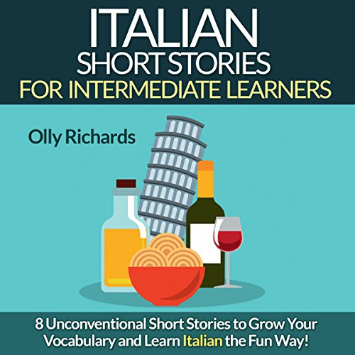 『Italian Short Stories for Intermediate Learners』のカバーアート