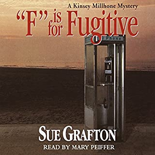 F is for Fugitive audiobook cover art