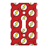 GRAPHICS & MORE The Flash Lightning Bolt Logo Plastic Wall Decor Toggle Light Switch Plate Cover