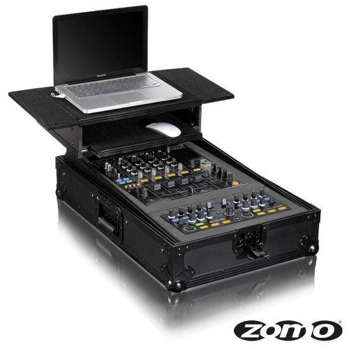 Zomo Flightcase P-MC Plus NSE - Case voor 1x Zomo MC-100 en 1x Pioneer DJM-750/800/850 DJ Mixer - met laptophouder
