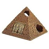 Pet Ting Adorno de pirámide egipcia para decoración de natación